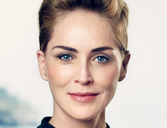 Sharon Stone testimonial Galderma per provarne i risultati naturali